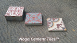 Blast from the past, hand-made cement tiles by Noga