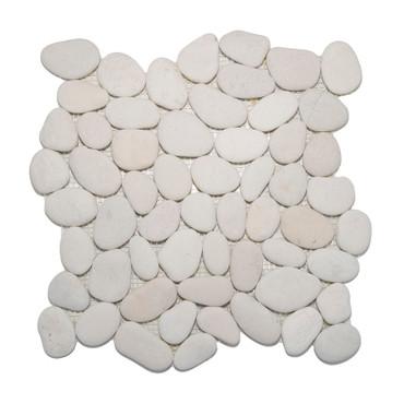 Pebbles Timor White 12x12