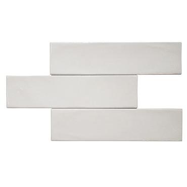 New Yorker Bright White Ceramic Wall Tile 3x12 (SETNEYK312BW)