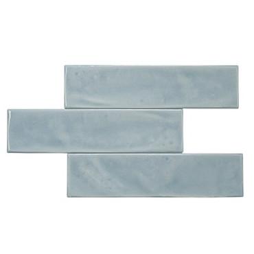 New Yorker Smoke Ceramic White Wall Tile 3x12 (SETNEYK312S)
