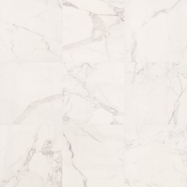 Deluxe White 24x24 Natural Rectified