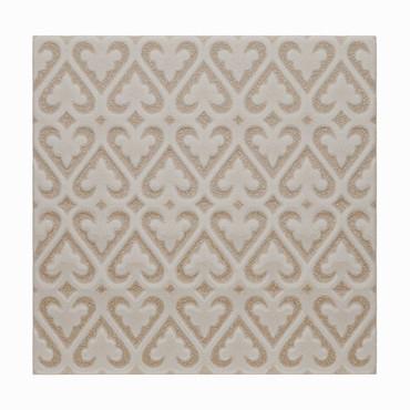 Ocean Sand Dollar 6x6 Persian Deco