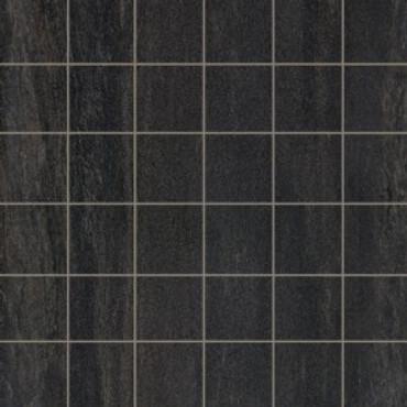 Stone Project Black 2x2 Cross Cut Mosaic