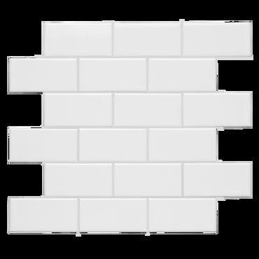 Neri White 2x4 Mosaic