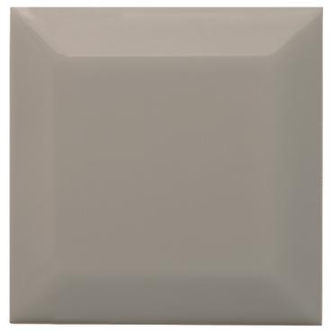 Neri Silver Mist 4x4 Beveled 2 Glazed Edges