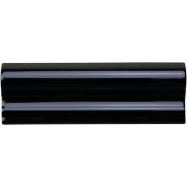 Neri Black Rail Molding 2x6