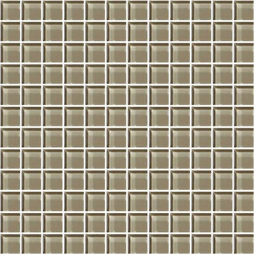 """Color Appeal Plaza Taupe 1"""" X 1"""""""