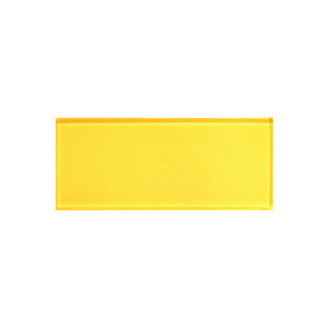 """Color Appeal Vibrant Yellow 3"""" X 6"""""""