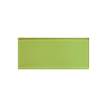 """Color Appeal Lime Green 3"""" X 6"""""""