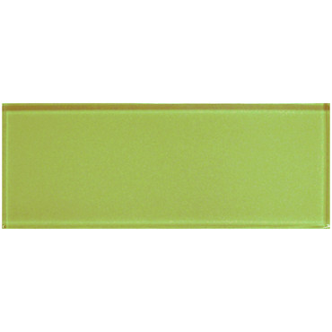 """Color Appeal Lime Green 4"""" X 12"""""""
