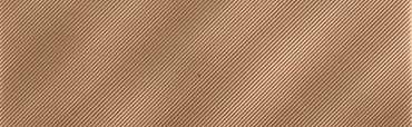 Refined Metals Bronze 2x8 Linear Wave Gloss