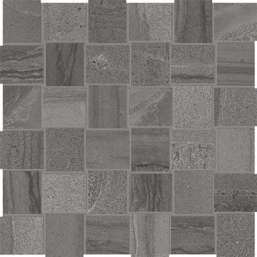 Amelia Carbon Basketweave HD Mosaics 2x2