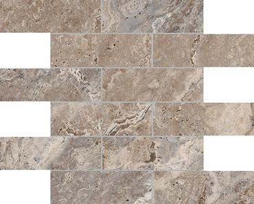 Antico Walnut HD Mosaics 2x6
