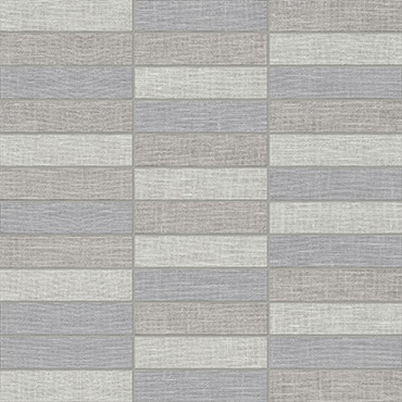Belgian Linen Dark Basketweave HD Mosaics 1x4