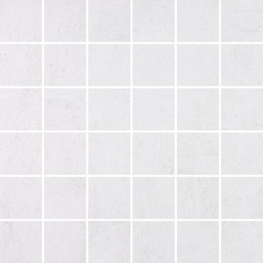 Cinq White Mosaics 2x2