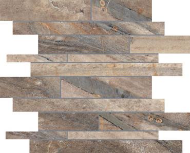 Evolution Earth HD Porcelain Random Strip Mosaics