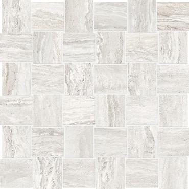 Precept Ivory HD Basketweave Mosaics 2x2