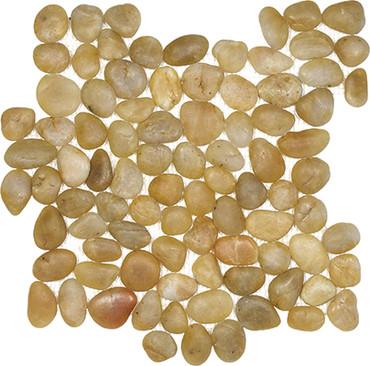 Zen Tonga Sunset Pebble Mosaics 12x12