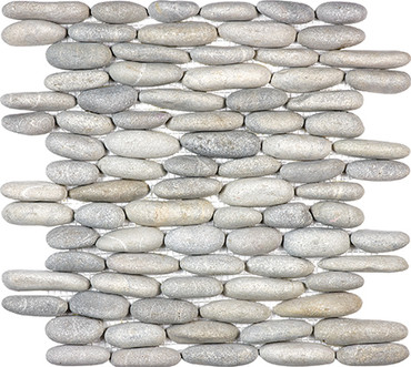 Vitality Mica Stacked Pebble Mosaics 12x12