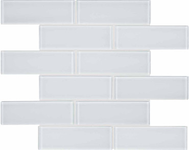 Element Ice Glass Brick Mosaics 2x6 (35-037)