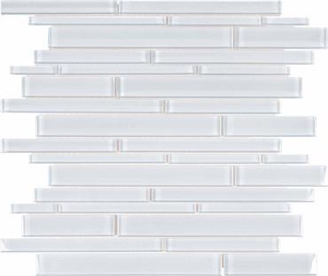 Element Ice Random Strip Glass Mosaics (35-057)