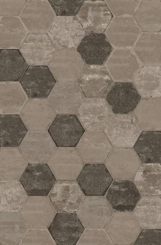Bricklane Olive 10 x 8.5 Hex