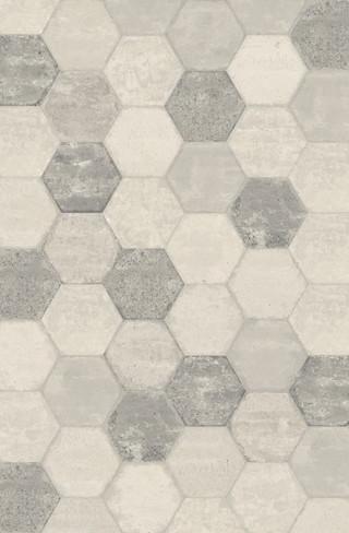 Bricklane White 10 x 8.5 Hex