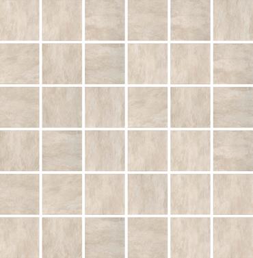 Ardoise Ivoire Mosaic 2x2 on 12x12 Sheet