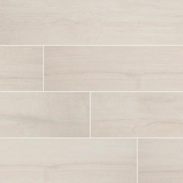 Palmetto Collection - Bianco Porcelain 6x36