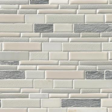 Everest Interlocking Patterned Mosaic on 12x12 Sheet