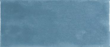 Maiolica Blue Steel Ceramic Glossy Wall Tile 4x10
