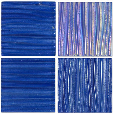Tidal Wave Rip Curl 3x3 Decorative Glass Mosaic 12x12
