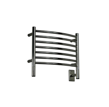 """Jeeves Collection - Model H Curved - Polished - Heated Towel Rack 20.5"""" x 18"""""""
