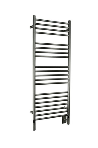 """Jeeves Collection - Model D Straight - Brushed - Heated Towel Rack 20.5"""" x 53"""""""