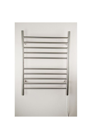 """Radiant Collection - Straight Plug-In Brushed - Heated Towel Rack 24"""" x 32"""""""