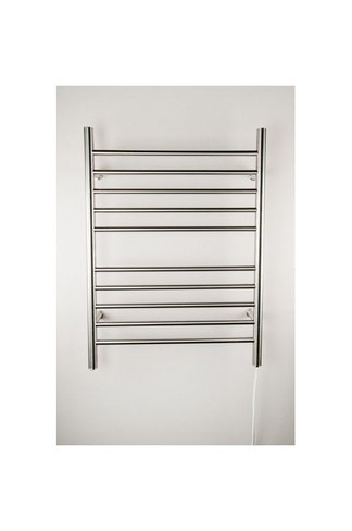 """Radiant Collection - Straight Plug-In Polished - Heated Towel Rack 24"""" x 32"""""""
