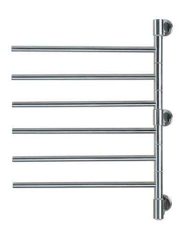 "Swivel Collection - Model Jack D006 - Polished - Heated Towel Rack 21"" x 29"""