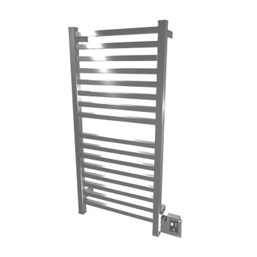 """Quadro Collection - Model Q 2042 - Polished - Heated Towel Rack 20"""" x 42"""""""