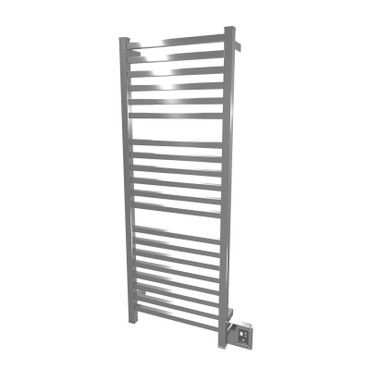 """Quadro Collection - Model Q 2054 - Polished - Heated Towel Rack 20"""" x 54"""""""