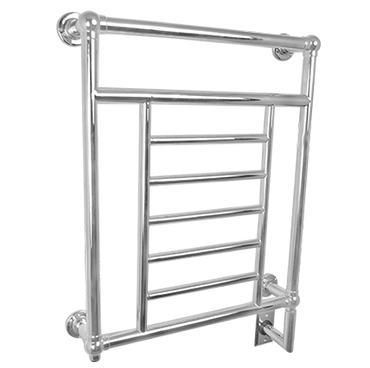 """Traditional Collection - Model T-2536 - Polished Nickel - Heated Towel Rack 25-1/4"""" x 35-3/4"""""""