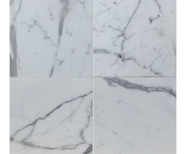 "Statuario Venato - Polished Stone Tile 12"" x 12"""