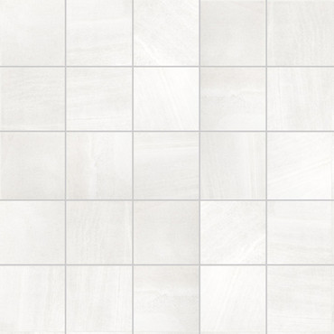 """Sands Collection - White Sand Natural Mosaic 2"""" x 2"""" On 12"""" x 12"""" Sheet"""