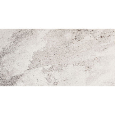 Consulate Collection - Embassy Silver Quarzite Textured Porcelain 12x24
