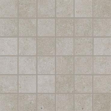 Haut Monde Collection - Elite Grey Polished Porcelain Mosaic 2x2 On 12x12 Sheet