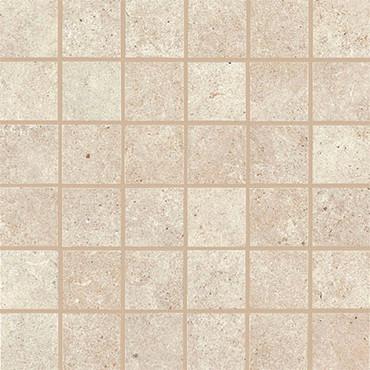 Haut Monde Collection - Nobility White Polished Porcelain Mosaic 2x2 On 12x12 Sheet