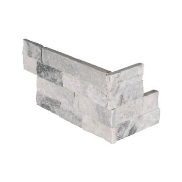 "Ledger Panel Alaska Gray Splitface ""L"" Corner 6x18x6 (LPNLMALAGRY618COR)"