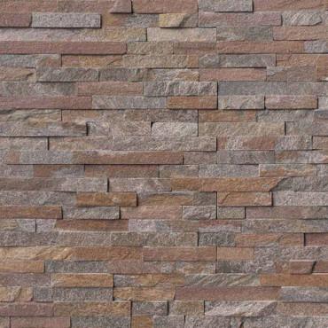 Ledger Panel Amber Falls Splitface Panel 6x24 (LPNLQAMBFAL624)