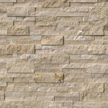 Ledger Panel Durango Cream Splitface Panel 6x24 (LPNLTDURCRE624)