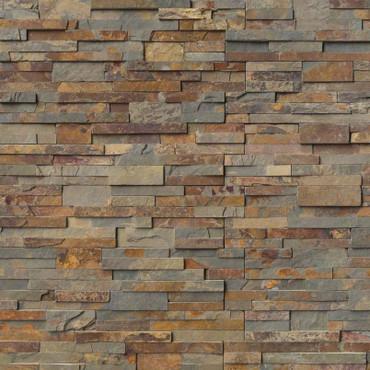 Ledger Panel Gold Rush Splitface Panel 6x24 (LPNLSGLDRUS624)