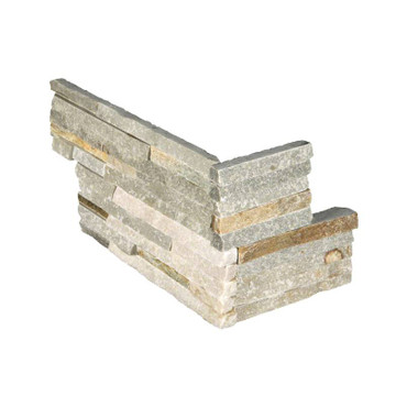 """Ledger Panel Golden Honey Splitface """"L"""" Corner 6x12x6 (LPNLQGLDHON618COR)"""